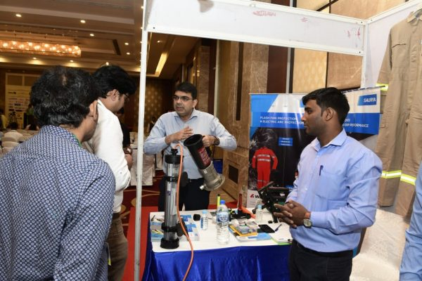 Saurya Team in Exhibition Live Demonstration for Atexor Products