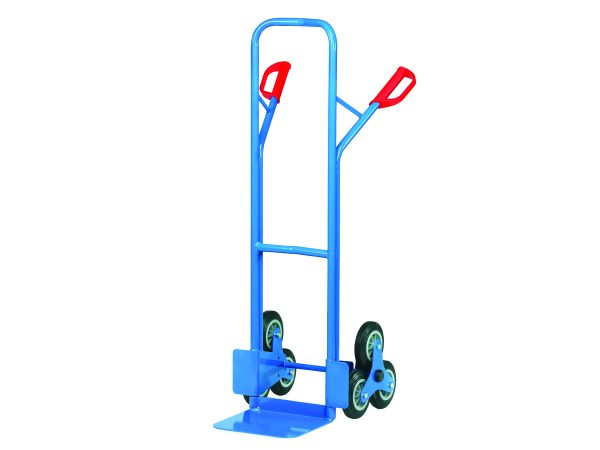 Steel tube stair hand trucks