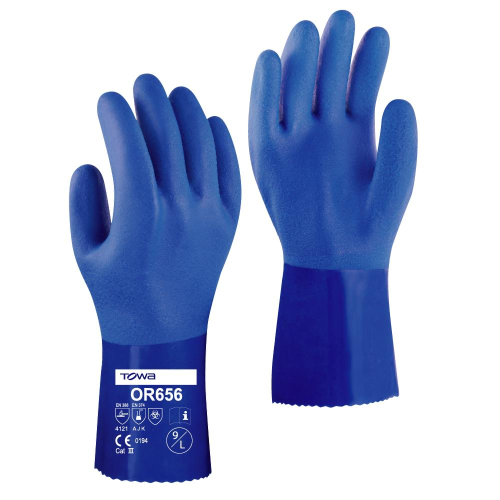 Towa OR656 Blue Gloves