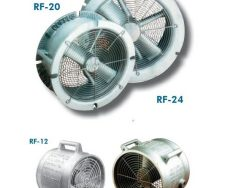 Air Powered Confined Space Fans
