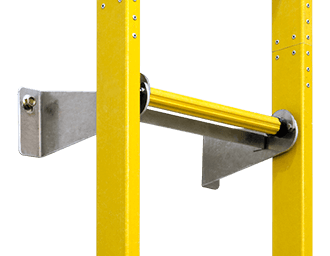Wall Bracket 370mm width for ladder support