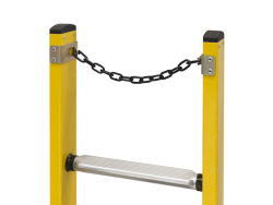 ladder chain intersect at top