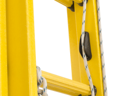 rope cleat for ladder