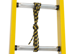 high quality rope knot at ladder