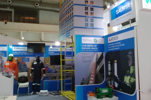PetroTech 2016, New Delhi Display Layout