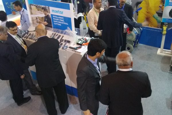 PetroTech 2016, New Delhi Top View Stall