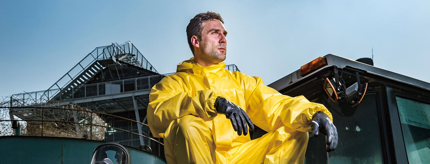 Ultitec 4000 Chemical Protection Disposable Coverall by Saurya Safety