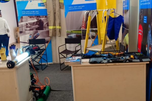 Saurya front view stall