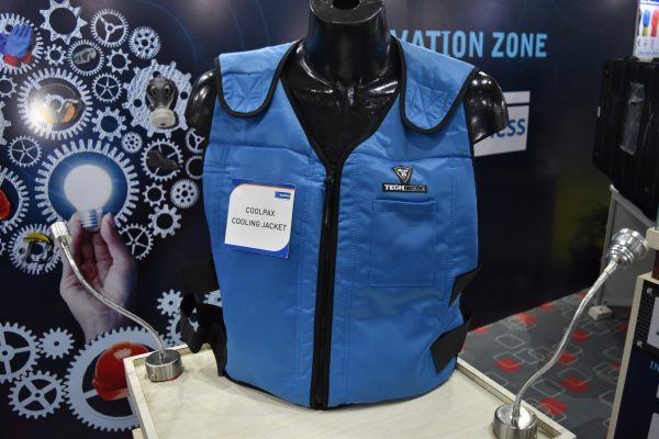 cooling jacket innovative product display
