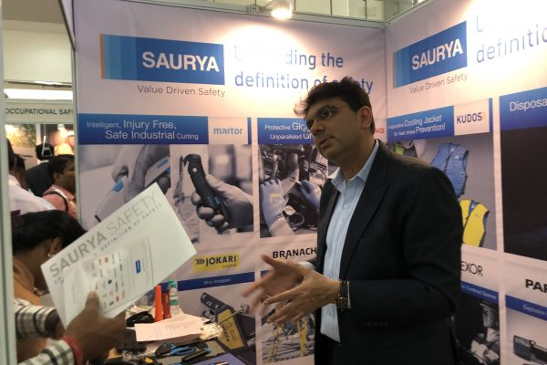 Saurya hospitality at SAMA Safety Summit 2019 exhibition booth