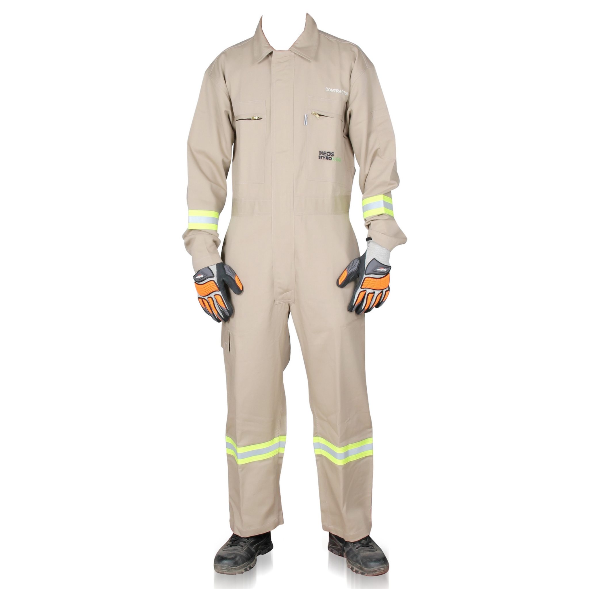 66a616b32963 Kudos flash fire resistant coverall khaki colour