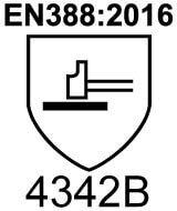 EN388:2016 4342B