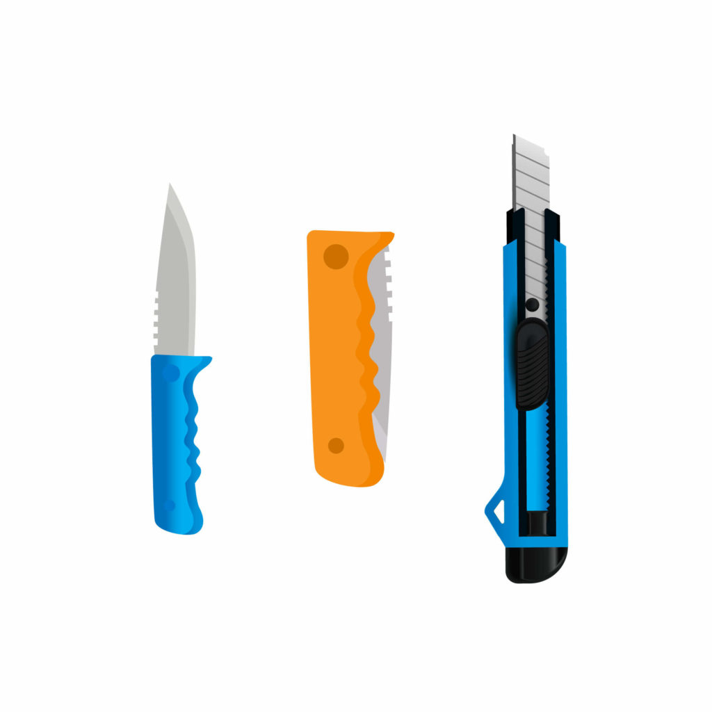 Folding Cutter and Box Cutter by Saurya Safety