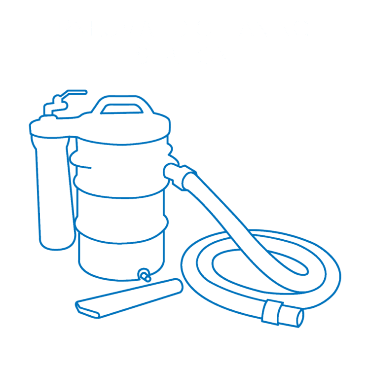 Pneumatic Cleaning Solution