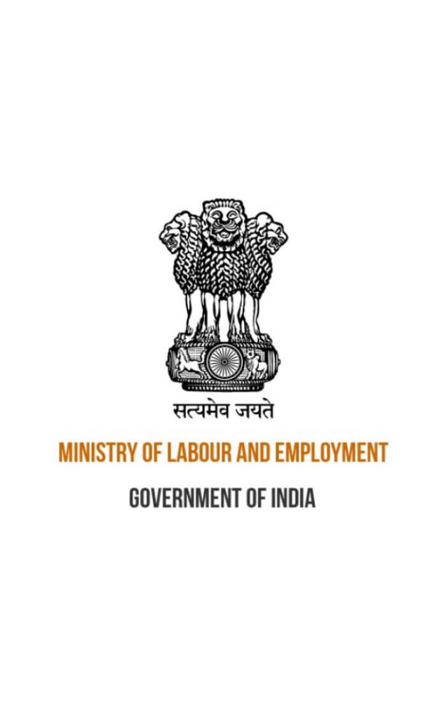Ministry of Labour and Employment Government of India Logo