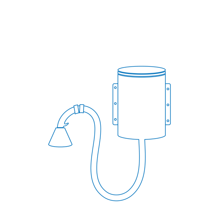 Blow Off System