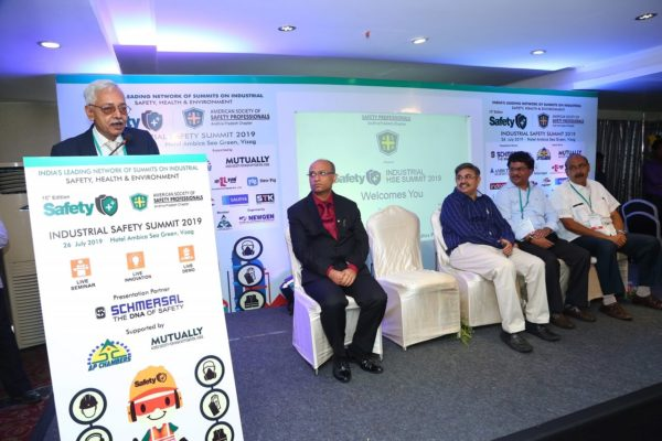 Industrial Safety Summit with American Society of Safety Professionals at Visakhapatnam