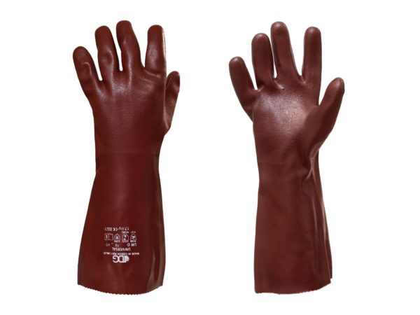 Chemical resistant universal sandy finish Gloves