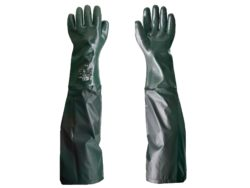 Chemical resistant universal winter with full sleeves colour gloves