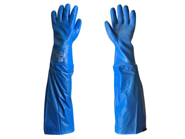 Chemical resistant universal with cover Gloves wide angle