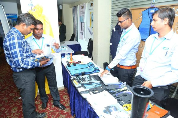 Saurya Safety Demonstrating the Innovative Safety Solutions at Vizag Industrial Summit 2019