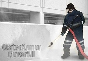 water armor coverall complete suit
